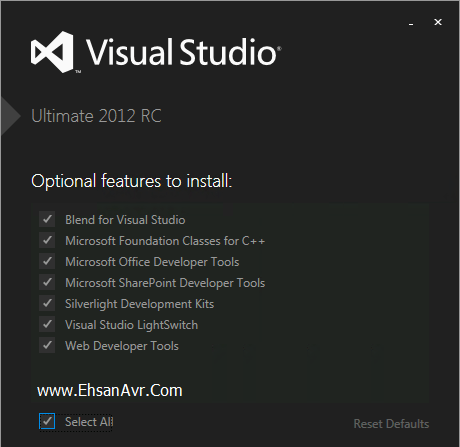 setup-visual-studio-2012